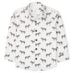 Zebra Casual Shirt